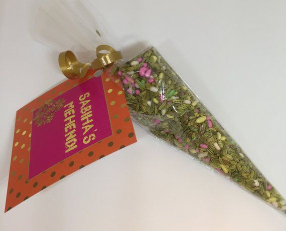 Party Mehndi Cone : Indian wedding favor pakistani mehndi cone