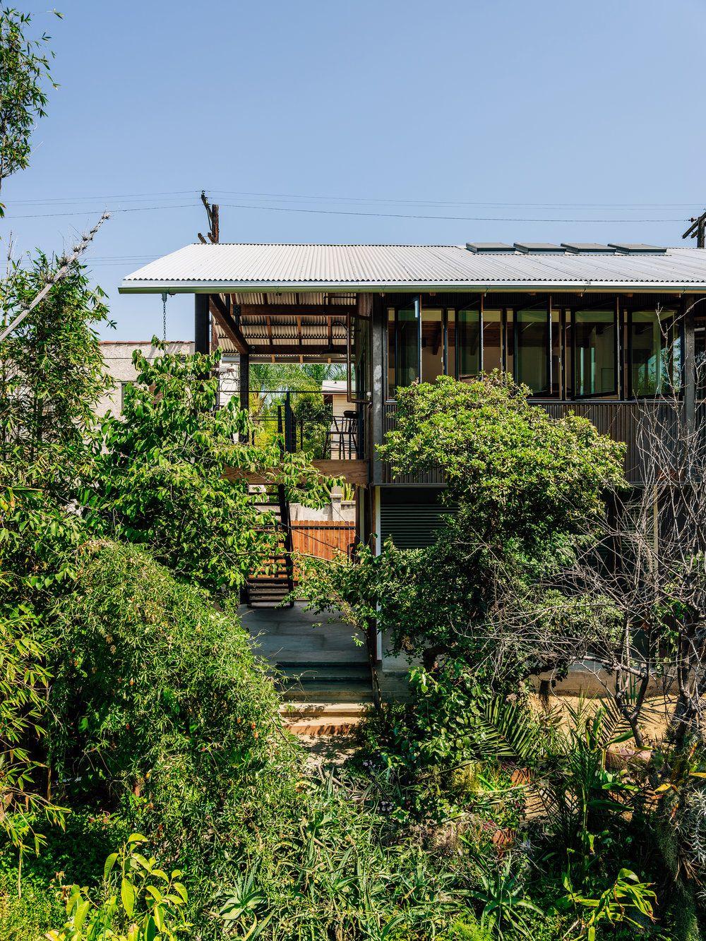 Alec Petros Studio Alecpetrosstudio Timmelideo Modern Design La Architect San Diego Architect Alecpe Canopy Corrugated Roofing Architecture