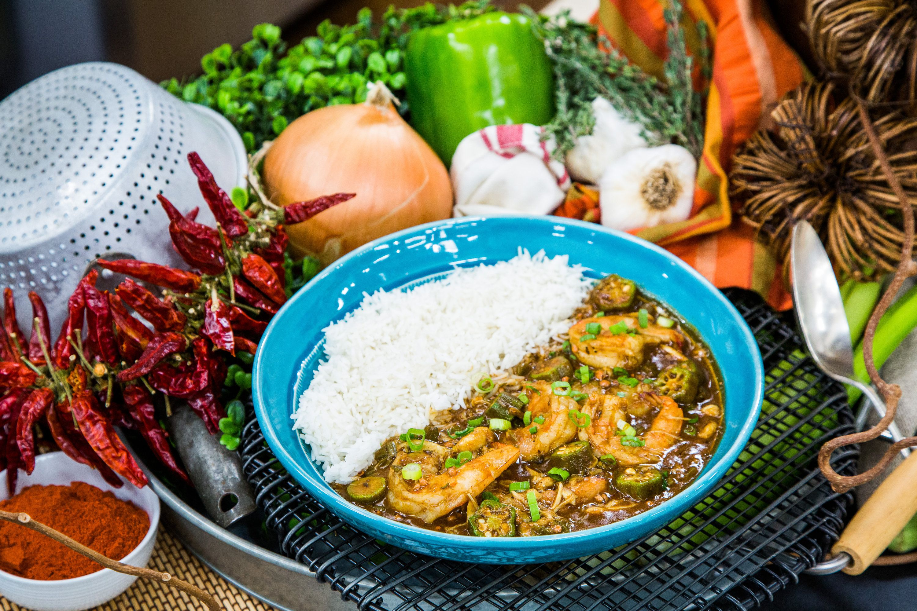 Recipes - Nanny's Seafood Gumbo | Hallmark Channel #cajundishes