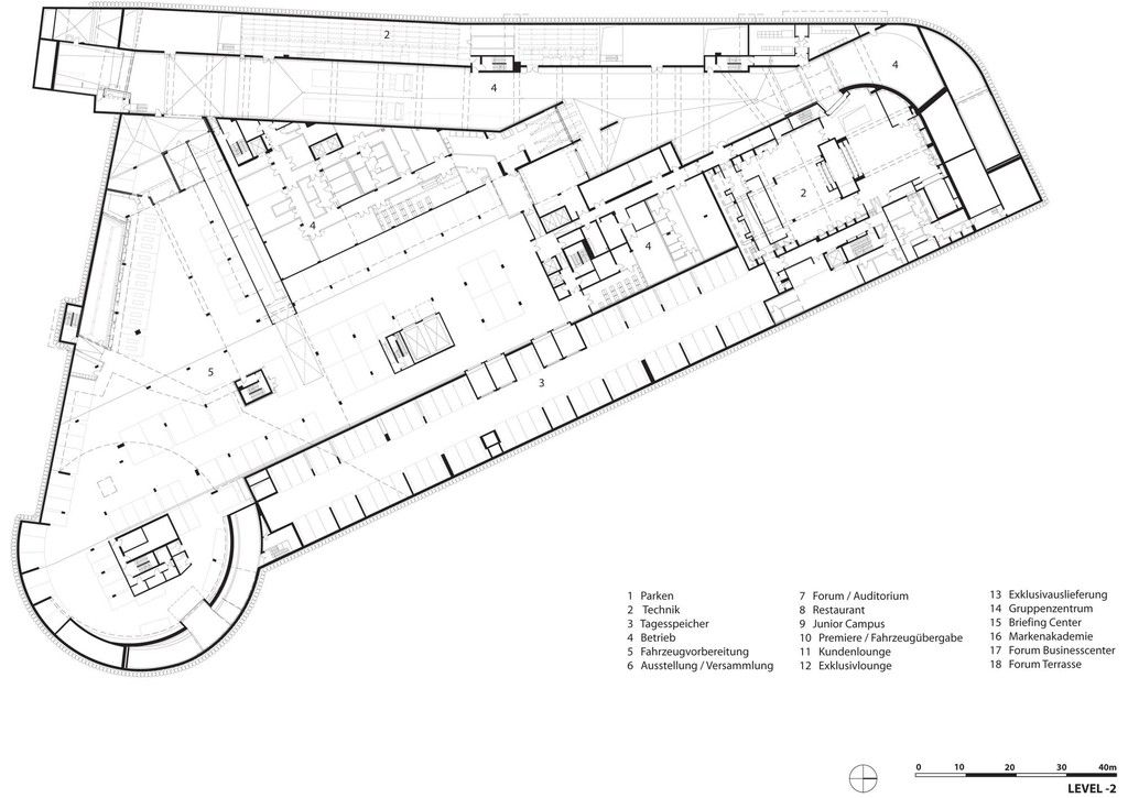 Bmw Welt Coop Himmelb L Au Arch2o Com Car Showroom Design Parking Design Car Showroom Architecture