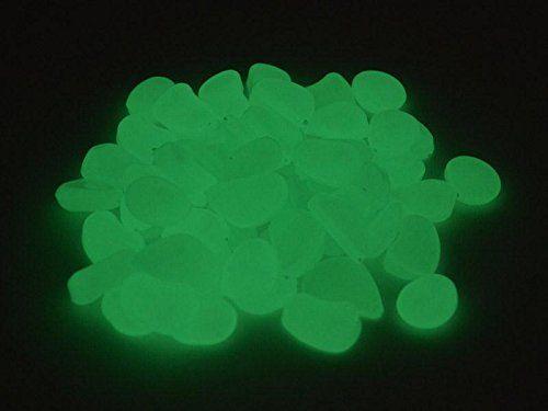 Leuchtsteine Leuchtende Deko Steine 250g ca.80 Steine weiß/grün 1,5-3,0 cm: Amazon.de: Garten http://amzn.to/2py0iih