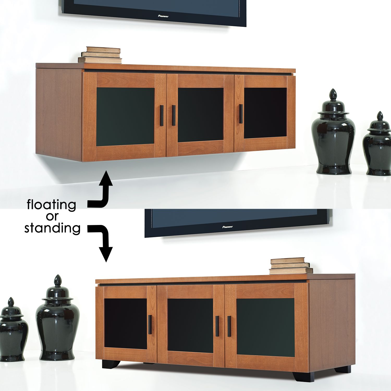 Salamander Designs Elba 237 65 Tv Stand Cabinet W 3 Doors In