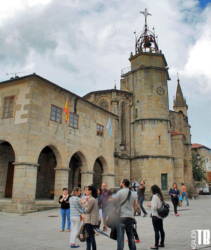 GaliciaTB visita Betanzos - Pazo de Bendanha