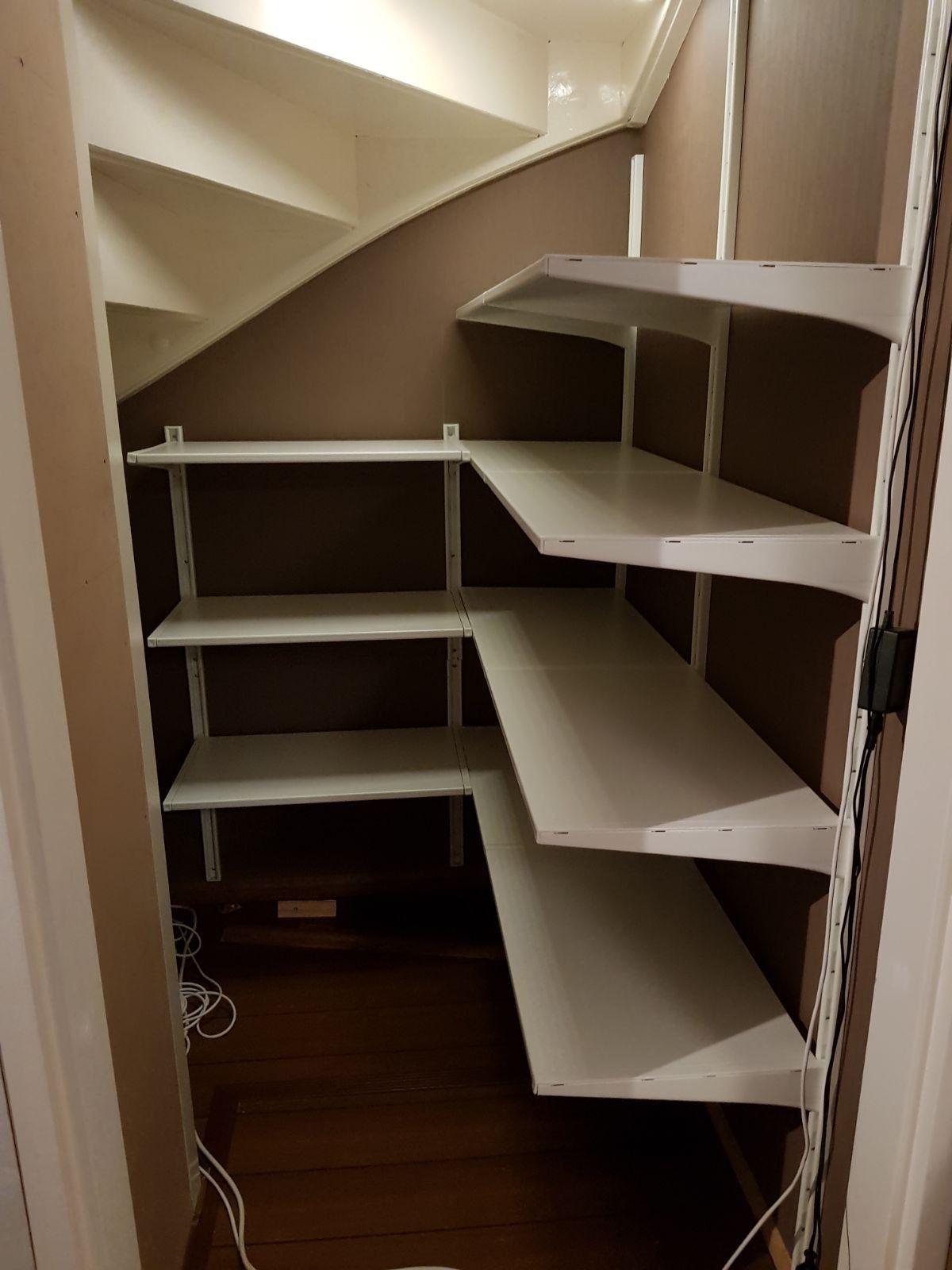 trappenkast voorraad indeling algot ikea organization pinterest ikea algot storage and. Black Bedroom Furniture Sets. Home Design Ideas