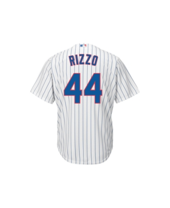 38d474de9 Majestic Men s Anthony Rizzo Chicago Cubs Player Replica Jersey - White M