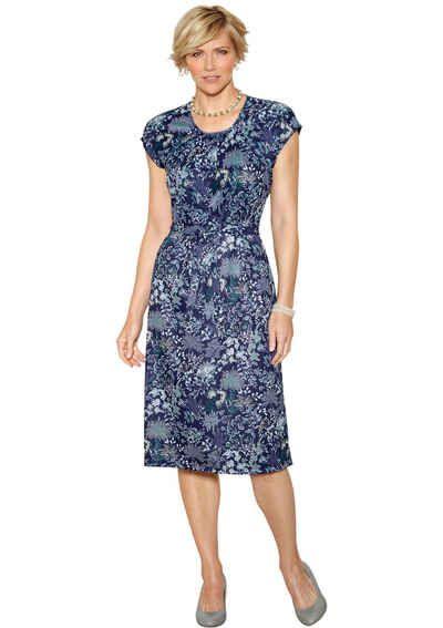 Kleider online kaufen bei OTTO. Classic Basics Jersey-Kleid mit gerafften  Ausschnitt 8b6109b267