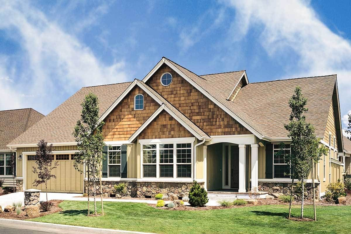 Charming Country Craftsman House Plan Craftsman Style House