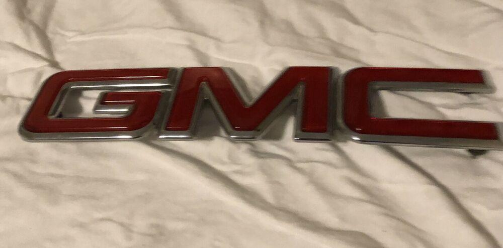 2002 2009 Gmc Envoy Emblem Front Grille Oem 015005589 Deco 0160590