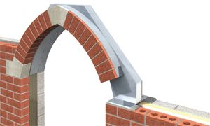 View Our Gothic Arch Brick Slip Feature Lintels Here