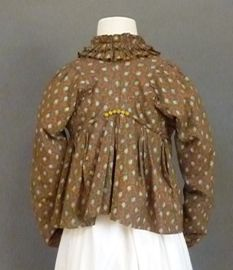 Sold By Meg Andrews Printed Cotton Spencer 1820 S Marvellous