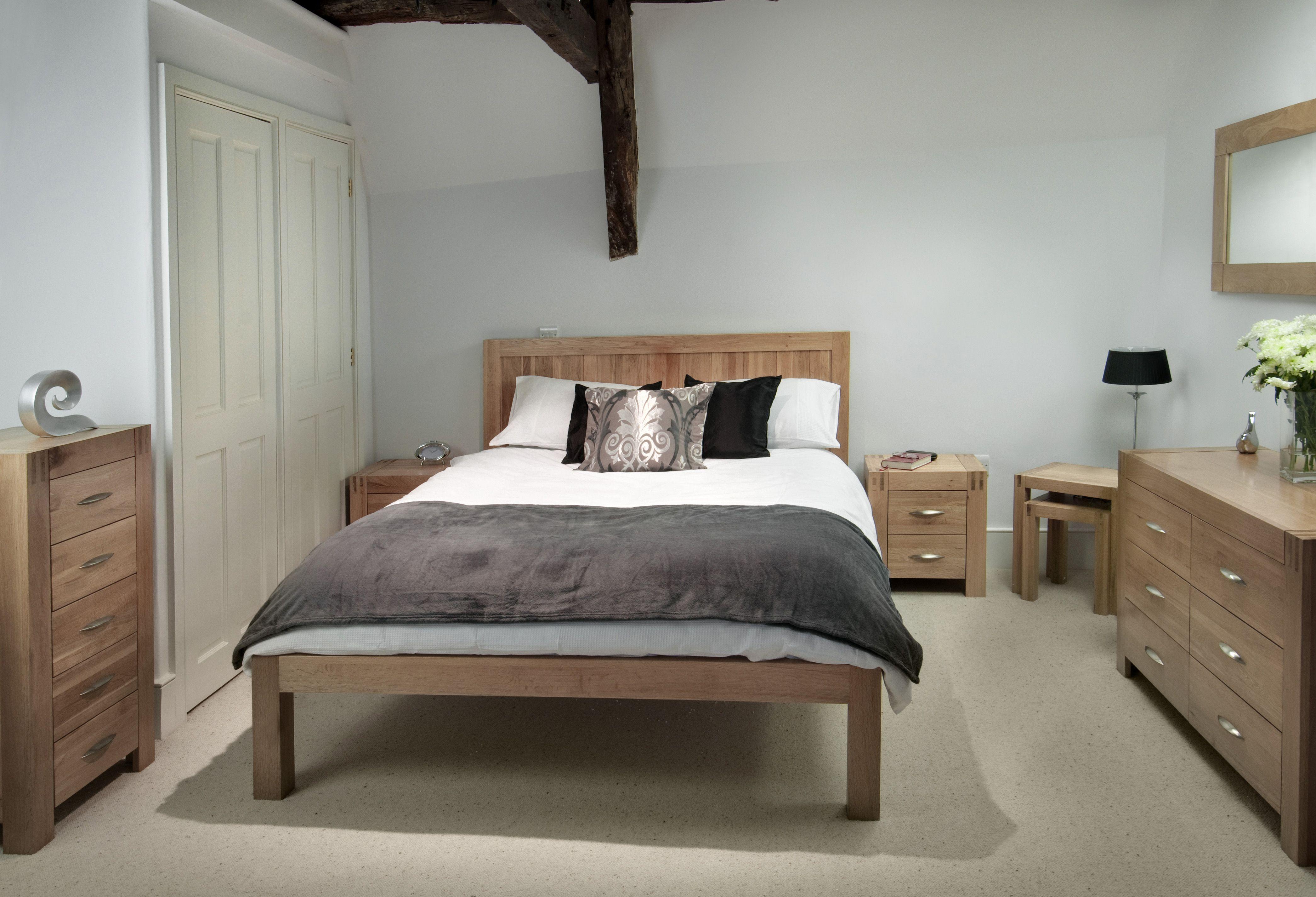Alto Solid Oak Bedroom Room Furniture Oak Furniture