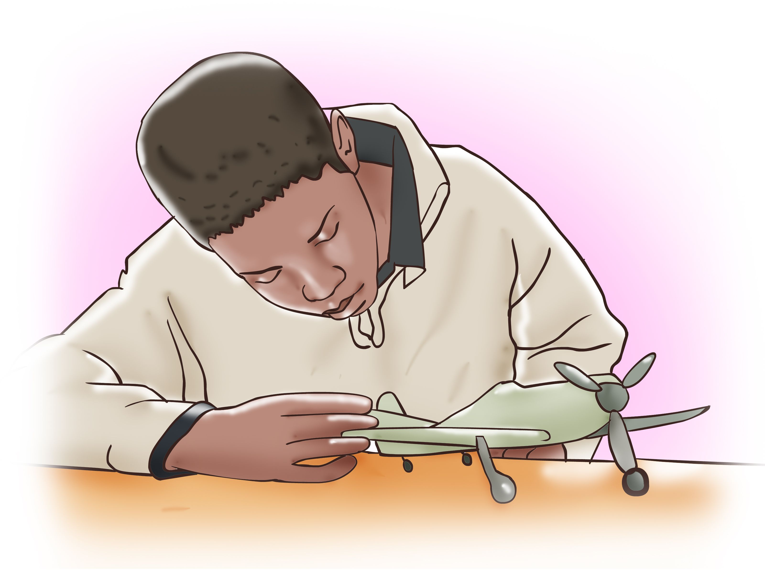 How to Build Model Airplane from Scratch -- via wikiHow.com ...