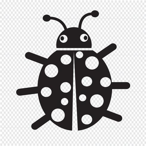 Pin di glyph style icon