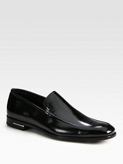 Prada - Venetian Dress Slip-On Loafers