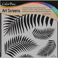 Colorbox Screens (stencil) - Tropical