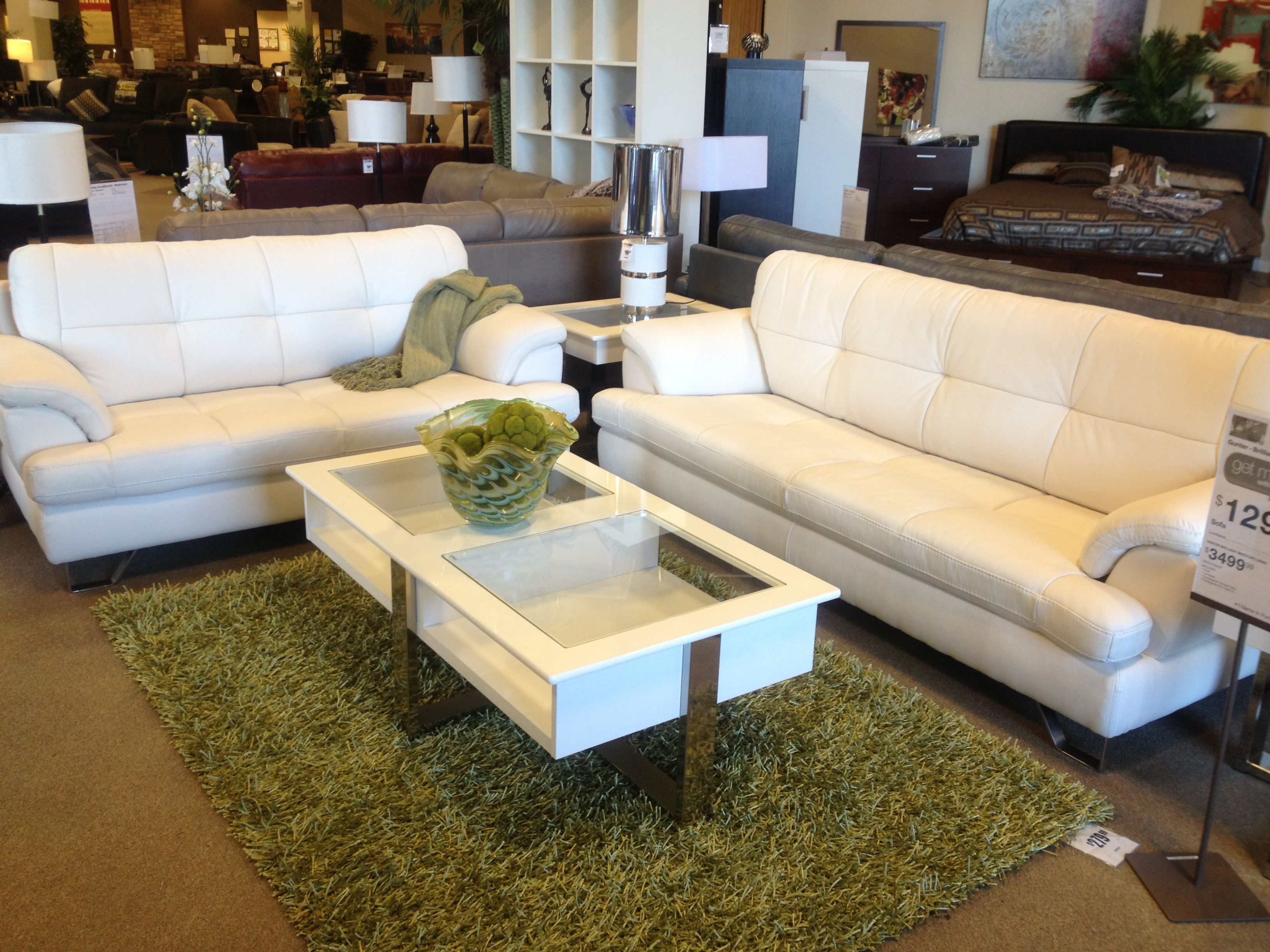 White Leather Couch White Coffee Table Love Lounging About Pinterest White Coffee
