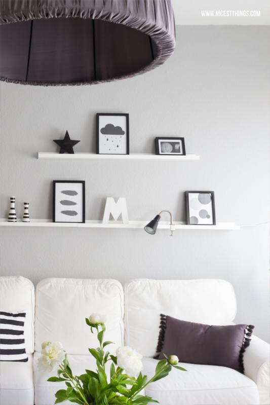 Tipps f r ein sch nes zuhause news aus unserer wohnung sweet home pinterest wohnen - Bilderleiste dekorieren ...