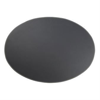 The Oval Placemat From The Danish Brand Orskov Is Made Of High Quality Leather With Solid Stiches And A Small Logotype The Placemat Works Well On Most Tables A