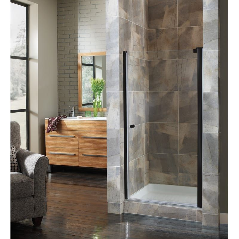 Foremost Cvsw2565 Cl Cove 65 High X 24 1 2 Wide Hinged Frameless
