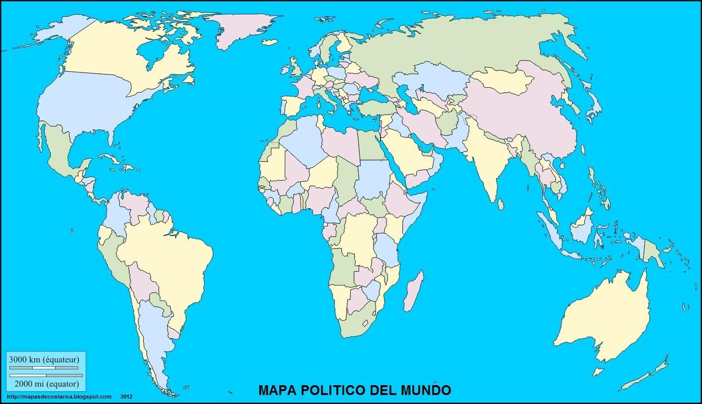 MAPAS INTERACTIVOS DE ESPAÑA Y JUEGOS DE GEOGRAFÍA Para Conocer - America mapa juego