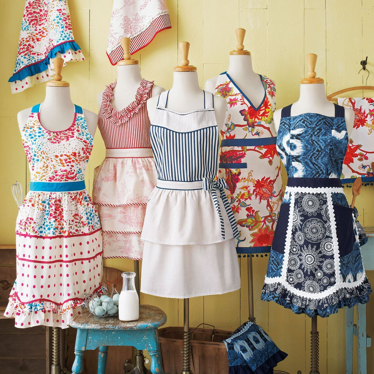 Indigo Bandana Vintage Inspired Apron At Sur La Table Love