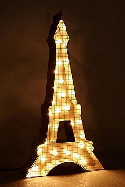 Eiffel Tower Gold Table Lamp