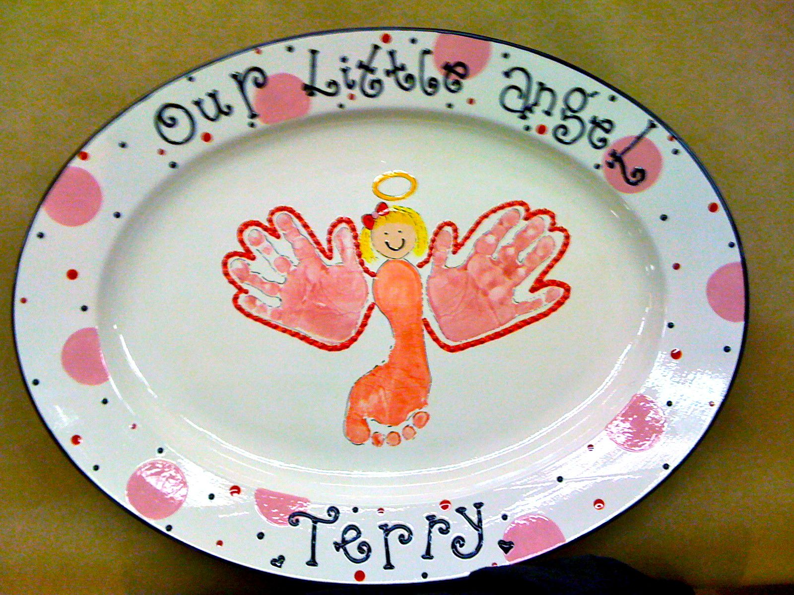 Paint Your Own Pottery Custom Order This Little Girl S