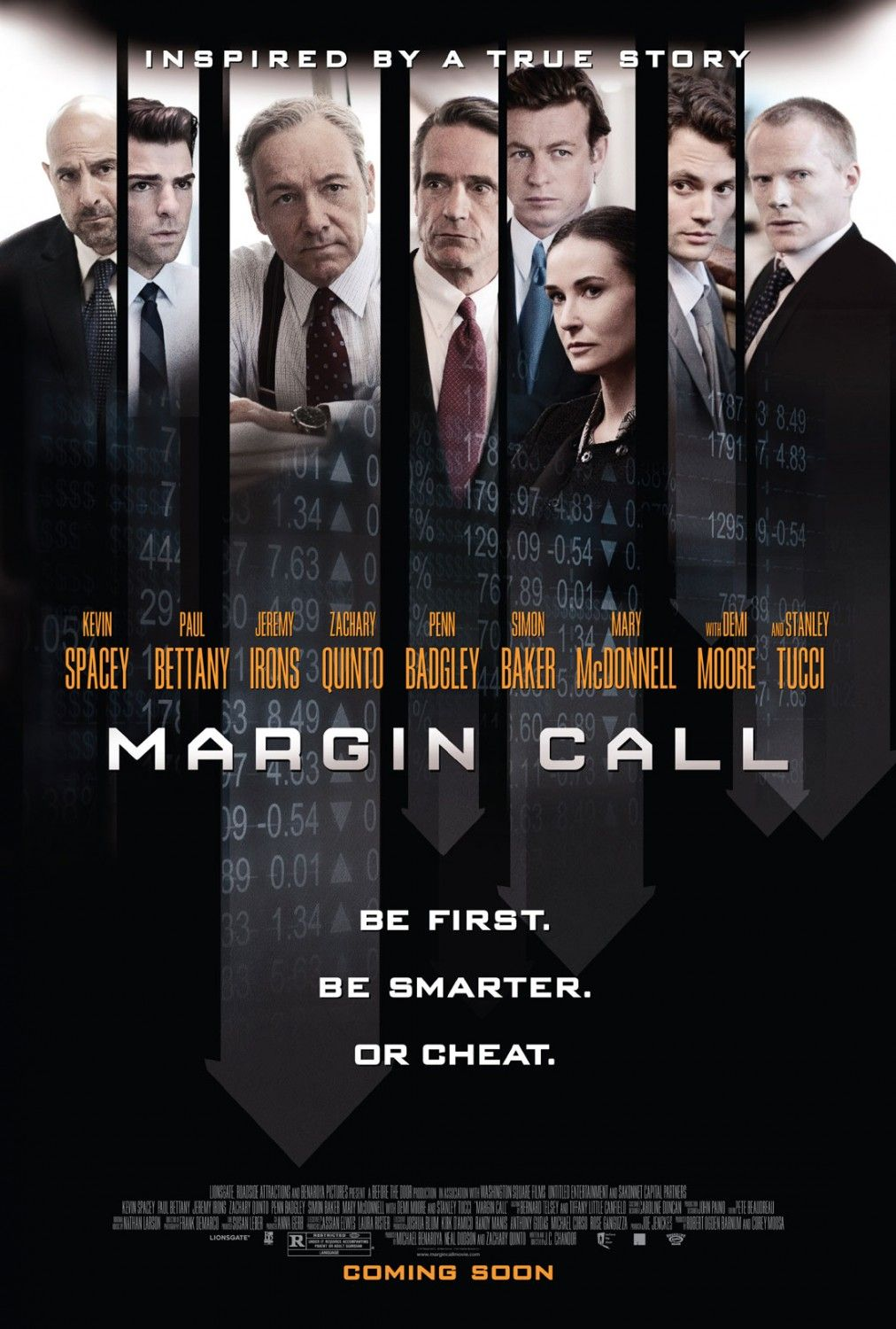 Margin Call Rotten Tomatoes Bon Film Kevin Spacey Film