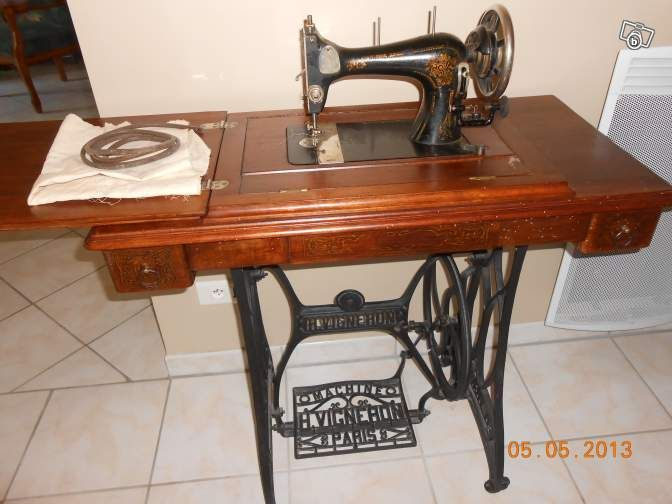 machine coudre h vigneron belle epoque french sewing. Black Bedroom Furniture Sets. Home Design Ideas