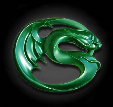 Black Jade Dragon | Unique Sculpture