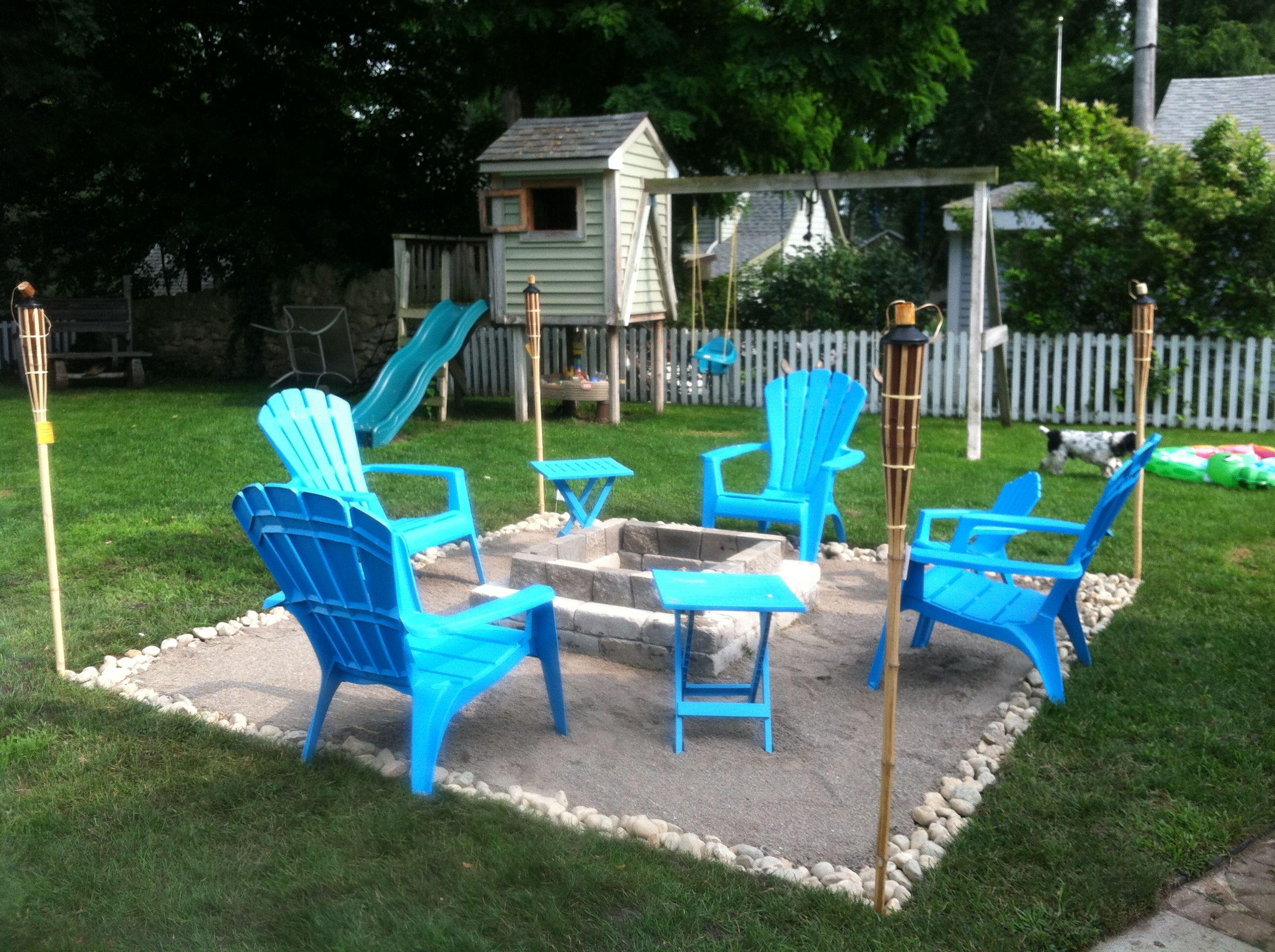 beach backyard firepit summer pinterest backyard beach and