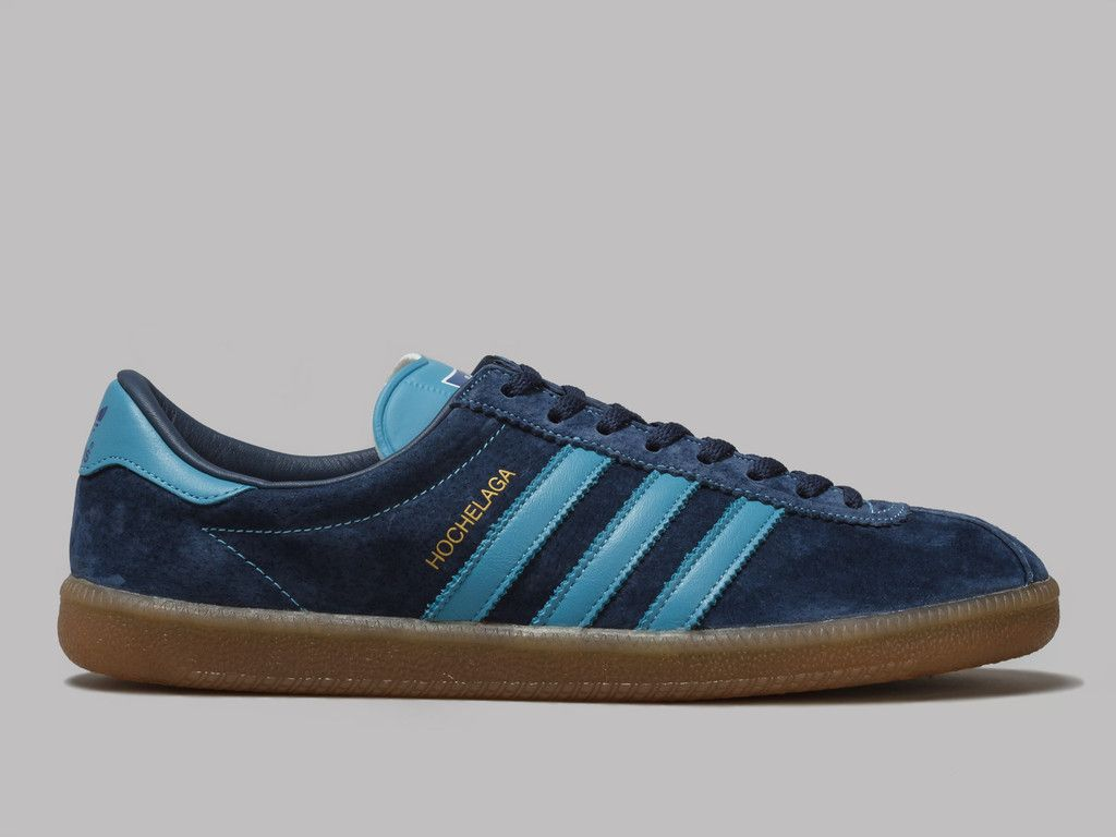 adidas Hochelaga SPZL (Collegiate Navy / Blanch Sea / Collegiate Royal)