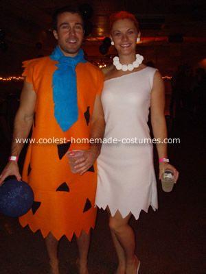 coolest flintstones group costume - Halloween Flintstones
