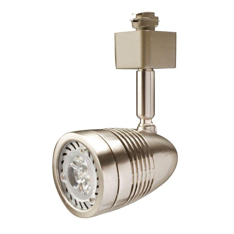 Robus Acorn LED Spotlight Head - Satin Chrome