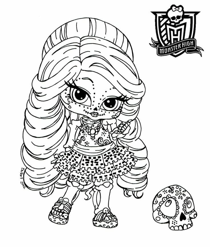 monster high coloring pages - http://east-color.com/monster-high ... - Girls Coloring Pages Monster High