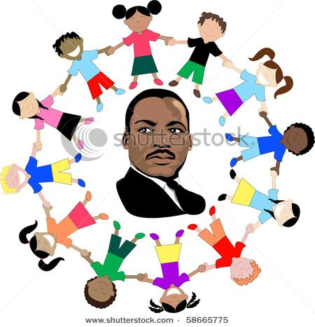 clip art of dr martin luther king with children of the world in all rh pinterest com martin luther king clipart black and white martin luther king jr clipart