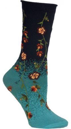 Tibetan Flowers Sock from The Sock Drawer