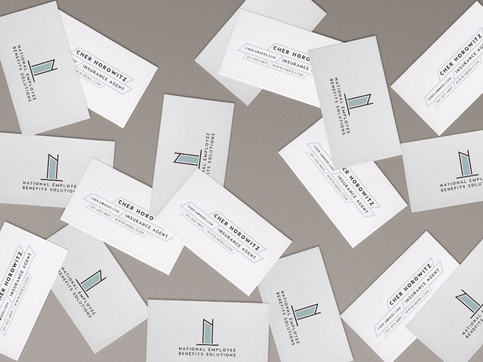 Minimalist business card design by Bright Young Things | Design ...