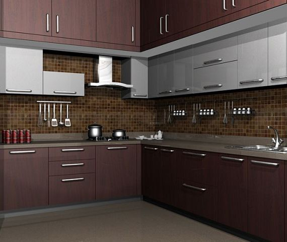 Pin On A Modular Kitchen: Pin By UrbanHomez.com On Modular Kitchen In 2019