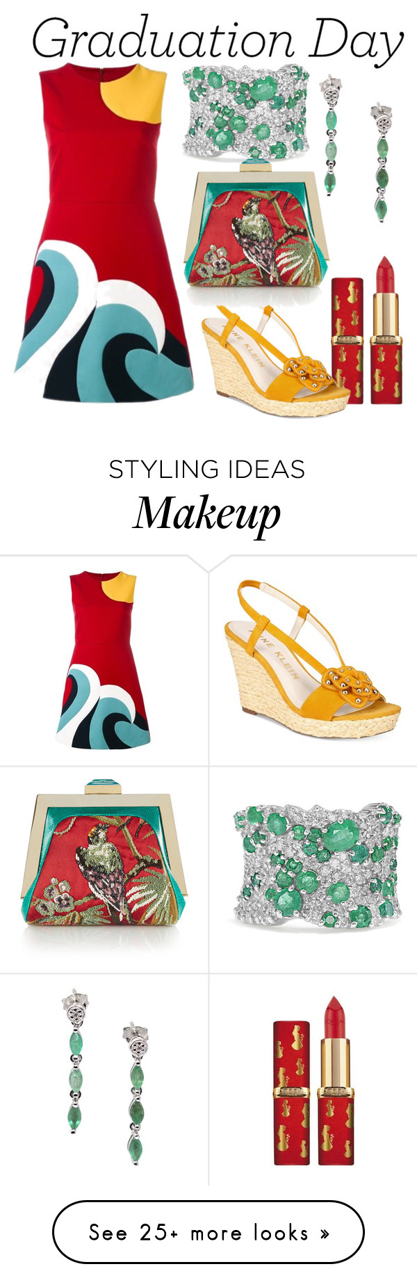 """""""après moi le déluge"""" by dita-west-grand on Polyvore featuring RED Valentino, Effy Jewelry, Anne Klein, De Buman and Rubeus"""