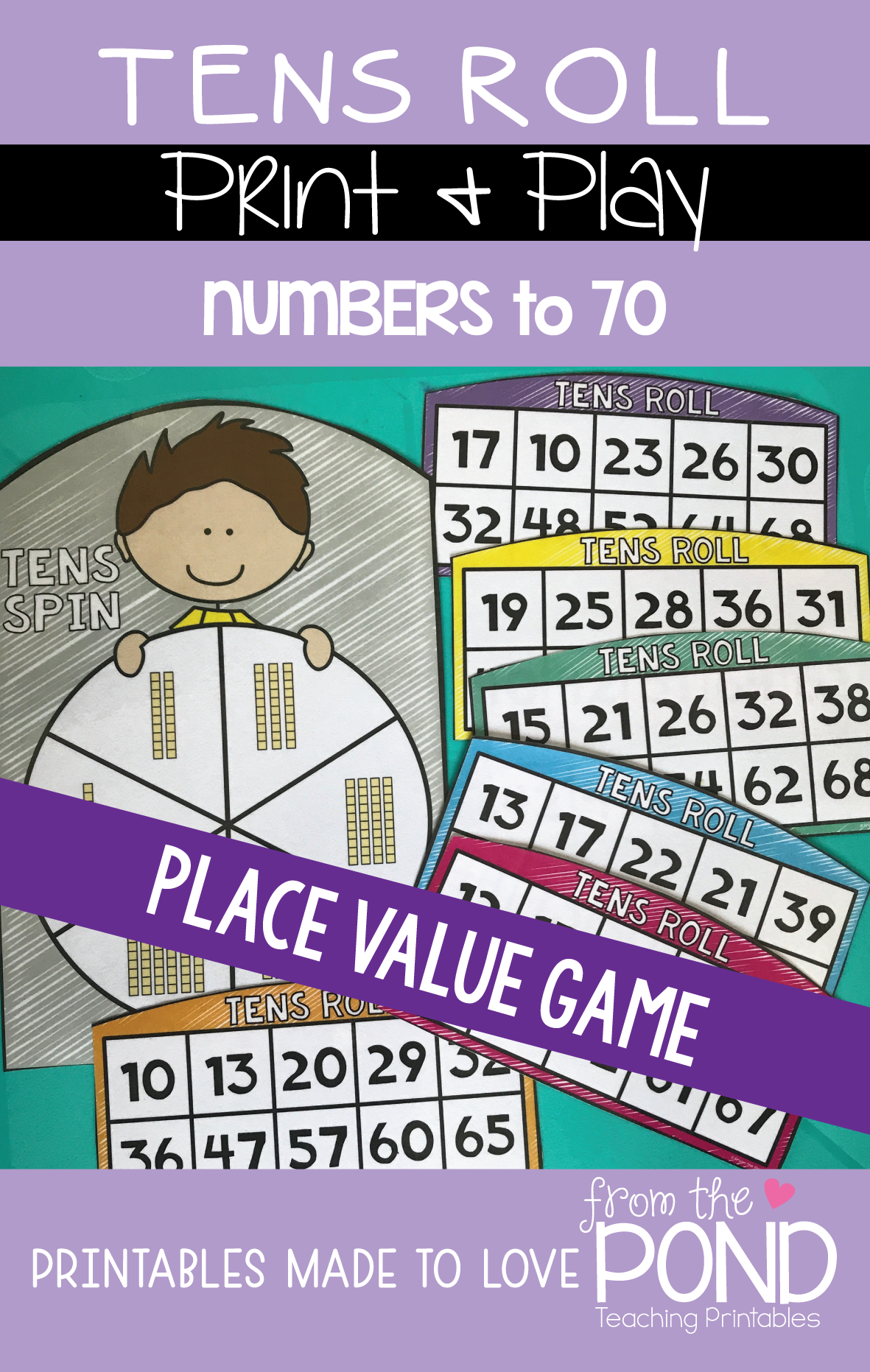 place value number game gaming game boards and math