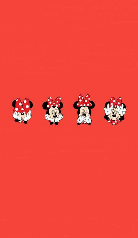 Disney Background Minnie Mouse Mickey Wallpaper Iphone