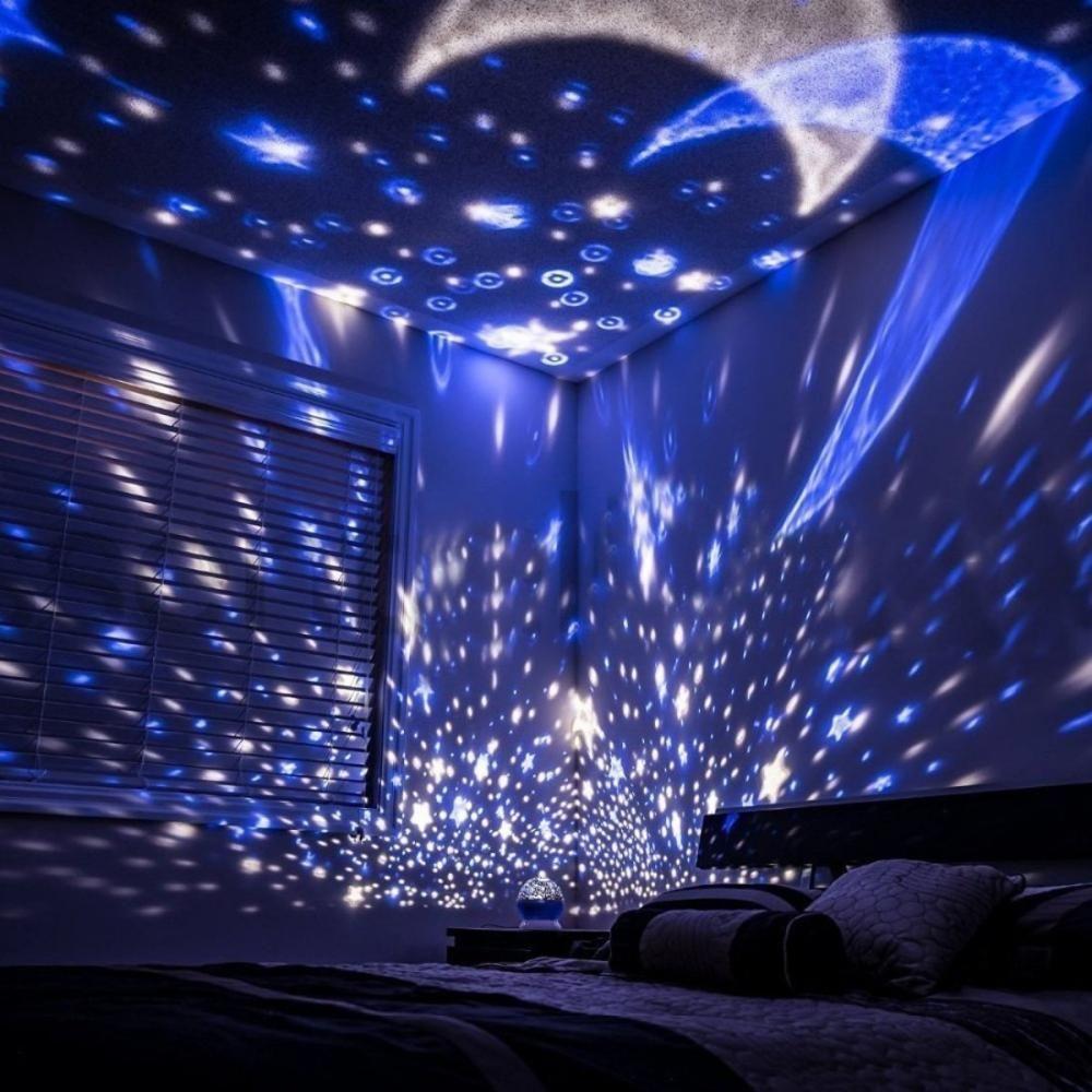 Bijzondere Lampen Voor In Huis Deze Maakt Een Oogverblindende Sterrenhemel Special Lamps For At Home Lamp Bulbs Starlamp Sterrenhemel Lampen Huis En Tuin