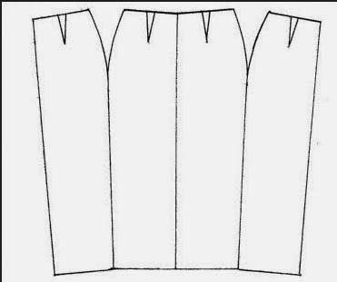 Cara Membuat Pola Dan Menjahit Rok Wiron Pola Rok Rok Pembuatan Pola