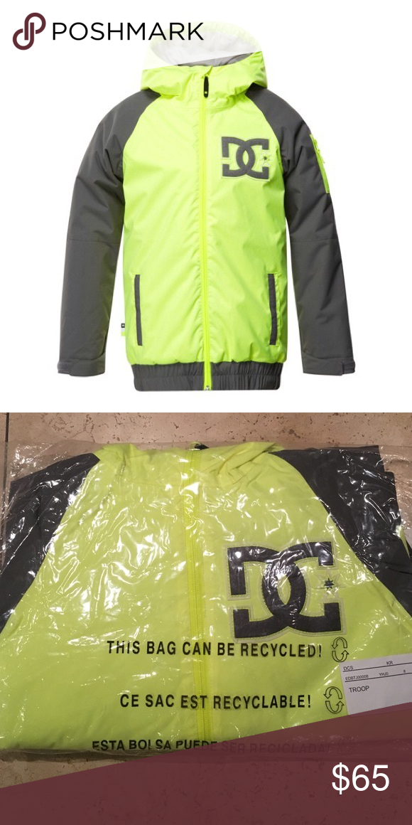 3585917eb D.C. Troop snowboard jacket kids/youth Bundle up your child in the DC Troop  Snowboard Jacket for kids and enjoy what winter has to offer.