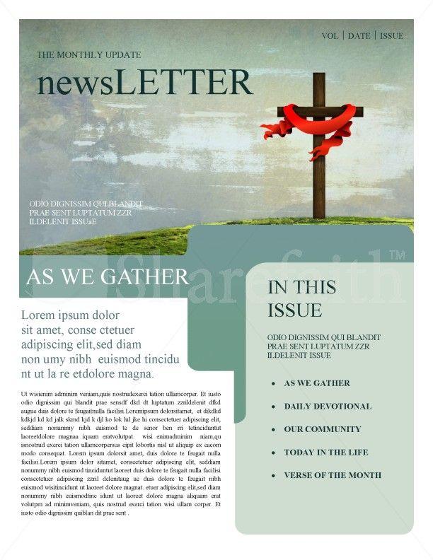 Day of Worship Church Flyer cartazes Pinterest - church newsletter