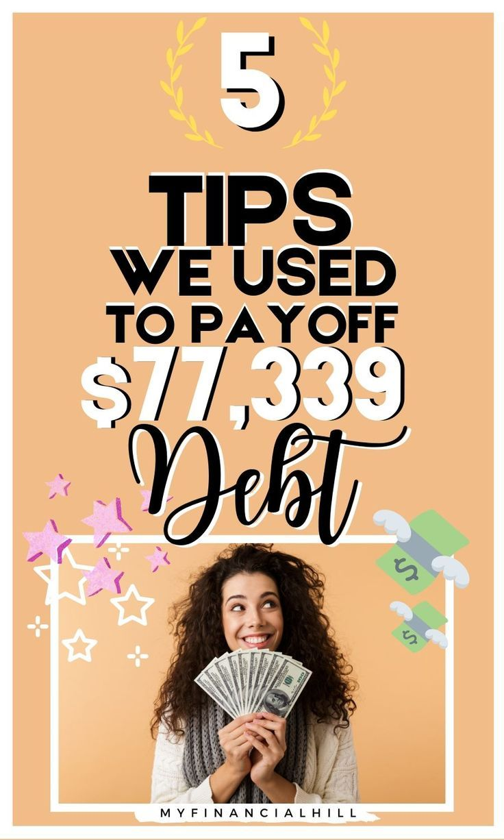 How to get out of debt with these 5 tips my financial