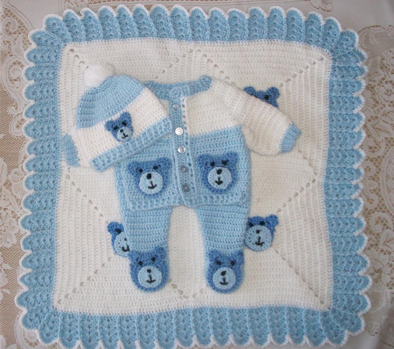 Baby Blanket Crochet Blanket Modern Crochet Edging For Baby Boy