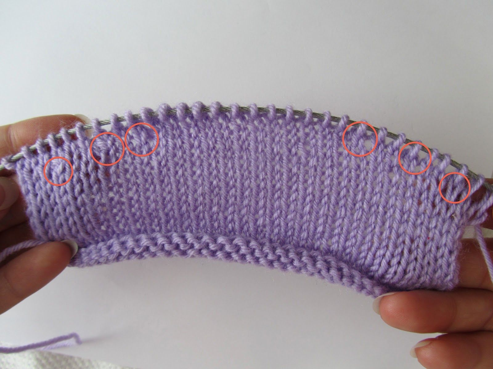 Knitting Wrap And Turn Tutorial : Short rows tutorial part wrap and turn breien