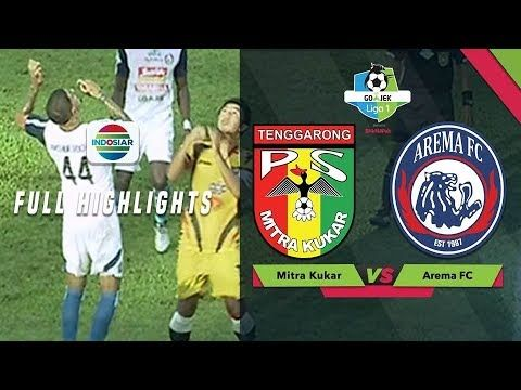 Highlight Cuplikan Gol Hasil Skor Pertandingan Mitra Kukar Vs